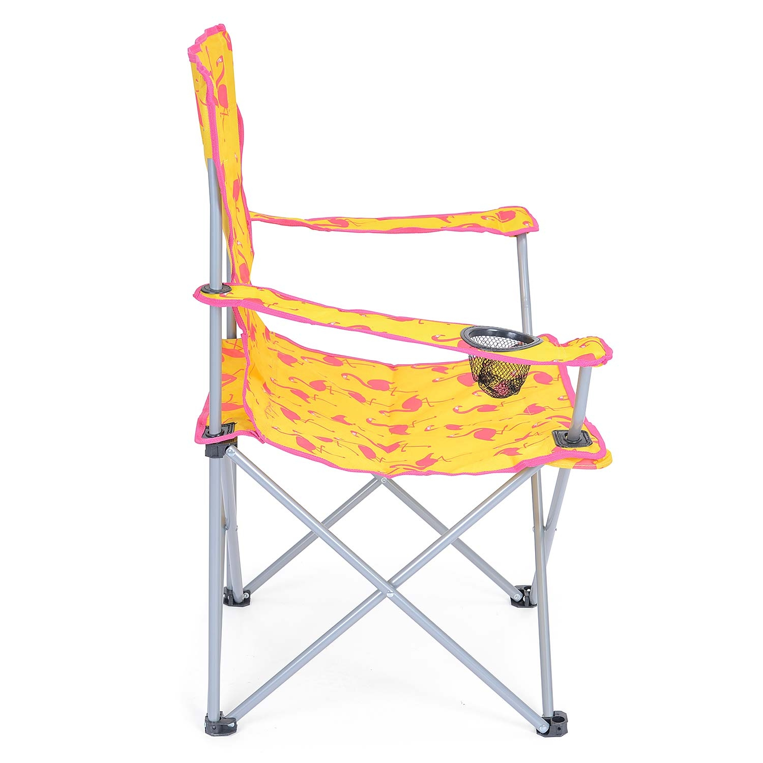 Folding-Camping-Chair-Lightweight-Beach-Festival-Outdoor-Travel-Seat-Flamingo thumbnail 13